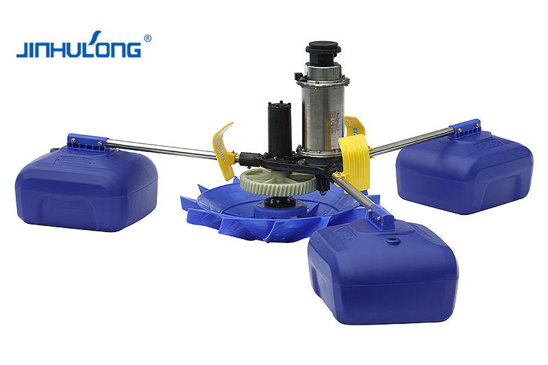 High-efficiency water-cooled impeller aerator (3 kW)